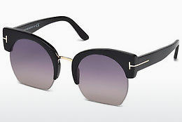 Gafas de visión Tom Ford Savannah (FT0552 01B) - Negras, Shiny