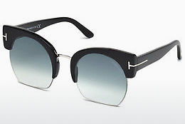 Gafas de visión Tom Ford Savannah (FT0552 01W) - Negras, Shiny