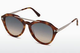 Gafas de visión Tom Ford FT0576 53B - Amarillas, Marrones, Havanna