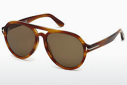 Gafas de visión Tom Ford FT0596 41E - Amarillas