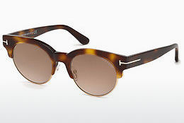 Gafas de visión Tom Ford FT0598 53G - Amarillas, Marrones, Havanna