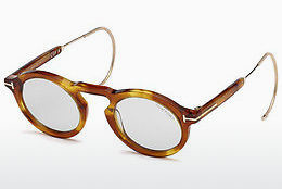 Gafas de visión Tom Ford FT0632 53A - Amarillas, Marrones, Havanna