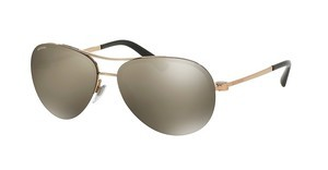 Bvlgari BV6081 376/5A LIGHT BROWN MIRROR GOLDPINK GOLD