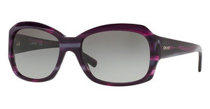 DKNY DY4048 370411 GREY GRADIENTPURPLE HORN