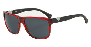 Emporio Armani EA4035 527887 GREYSTRIPED RED