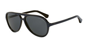 Emporio Armani EA4063 546687 GREYTOP BLUE ON TR BROWN