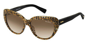 Max Mara MM SHADED II FSC/JD BROWN SFFABRIC BK (BROWN SF)