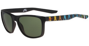 Nike UNREST EV0922 SE 003 MATTE BLACK/CINNIBAR WITH GREEN  LENS