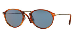 Persol PO3046S 96/56 CRY. ORANGE GRAD. SILVER MIR.HAVANA