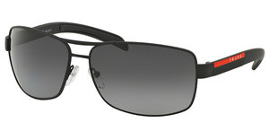 Prada Sport PS 54IS DG05W1 POLAR GREYBLACK RUBBER