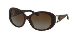 Ralph Lauren RL8118Q 5003T5 POLAR BROWN GRADIENTSHINY DARK HAVANA