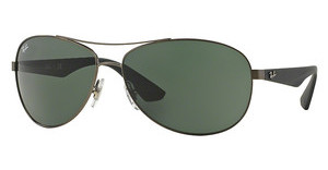 Ray-Ban RB3526 029/71 GRAY GREENMATTE GUNMETAL