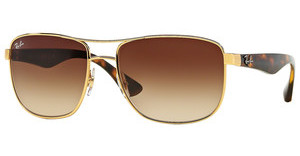 Ray-Ban RB3533 001/13 BROWN GRADIENTGOLD