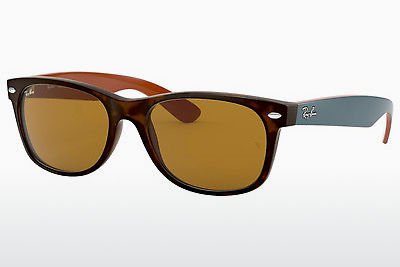 Gafas de visión Ray-Ban NEW WAYFARER (RB2132 6179) - Marrones, Havanna