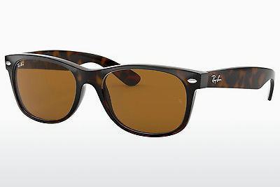 Gafas de visión Ray-Ban NEW WAYFARER (RB2132 710) - Marrones, Havanna