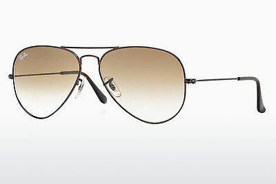 Gafas de visión Ray-Ban AVIATOR LARGE METAL (RB3025 014/51) - Marrones