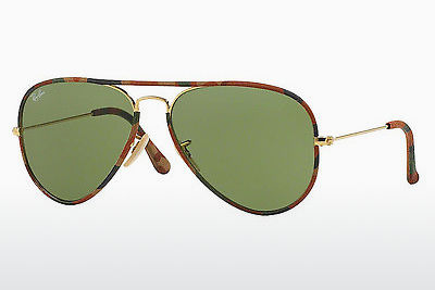 Gafas de visión Ray-Ban AVIATOR FULL COLOR (RB3025JM 168/4E) - Oro