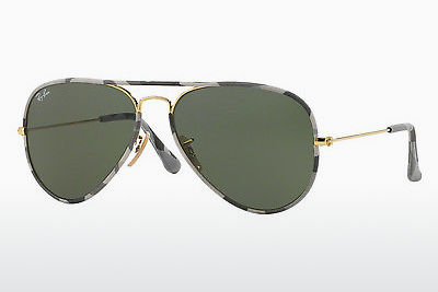 Gafas de visión Ray-Ban AVIATOR FULL COLOR (RB3025JM 171) - Oro