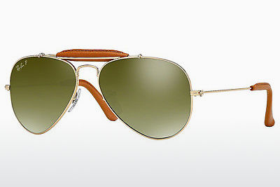Gafas de visión Ray-Ban AVIATOR CRAFT (RB3422Q 001/M9) - Oro