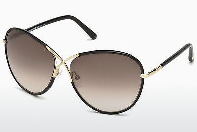 Gafas de visión Tom Ford Rosie (FT0344 01B) - Negras, Shiny