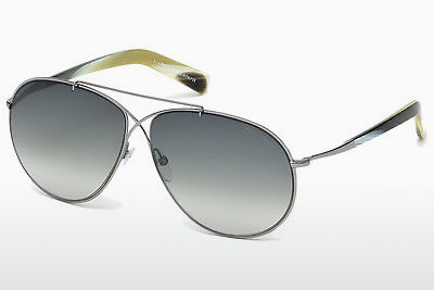 Gafas de visión Tom Ford Eva (FT0374 15B) - Grises, Shiny, Matt