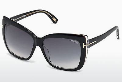 Gafas de visión Tom Ford Irina (FT0390 01B) - Negras, Shiny