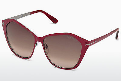 Gafas de visión Tom Ford Lena (FT0391 69Z) - Borgoña, Bordeaux, Shiny