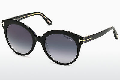 Gafas de visión Tom Ford Monica (FT0429 03W) - Negras, Transparent