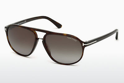 Gafas de visión Tom Ford Jacob (FT0447 52B) - Marrones, Dark, Havana