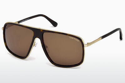 Gafas de visión Tom Ford FT0463 52K - Marrones, Dark, Havana