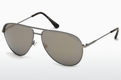 Gafas de visión Tom Ford FT0466 13C - Grises, Dark, Matt