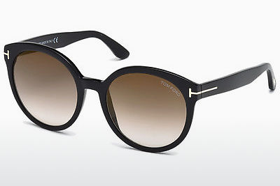 Gafas de visión Tom Ford Philippa (FT0503 01G) - Negras, Shiny
