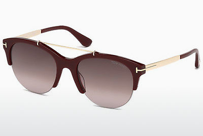 Gafas de visión Tom Ford Adrenne (FT0517 69T) - Borgoña, Shiny