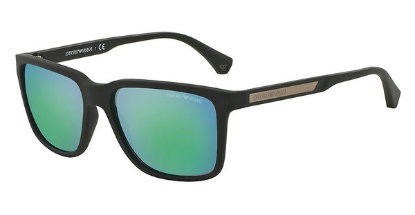 Emporio Armani EA4047 535431 LIGHT BLUE MIRROR GREENMILITARY RUBBER