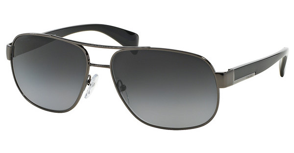 Prada PR 52PS 5AV5W1 POLAR GRAY GRADIENTGUNMETAL